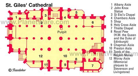 Gothic Church Floor Plan 15 Top Rated Tourist Attractions In Edinburgh Planetware