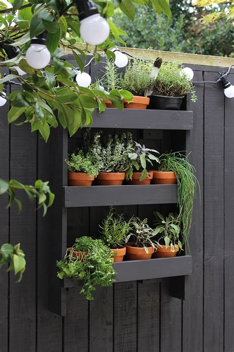 diy vertical herb garden modern garden makeover vertical herb gardens herbs