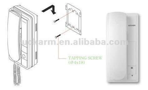 15m wiring intercom systerm audio door phone for single