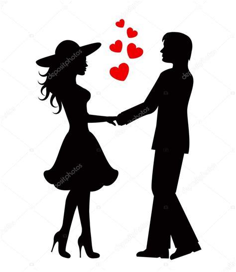 imagenes en blanco y negro de parejas enamoradas pareja de enamorados archivo im 225 genes vectoriales