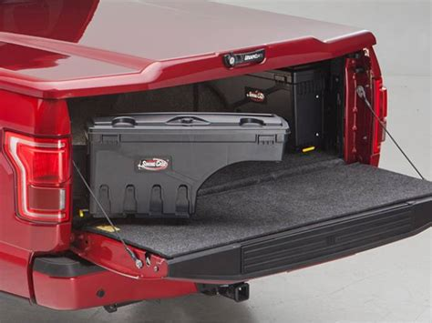swing out tool box undercover swing case toolbox realtruck com