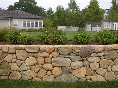 Garden Rock Wall Retaining Walls Joyce Landscaping