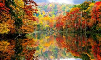 what are fall colors america the beautiful in autumn peak fall foliage dates