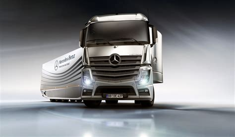 mercedes truck mercedes aero truck concept garage car