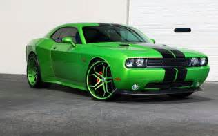 car green cars dodge challenger hellcat vehicle
