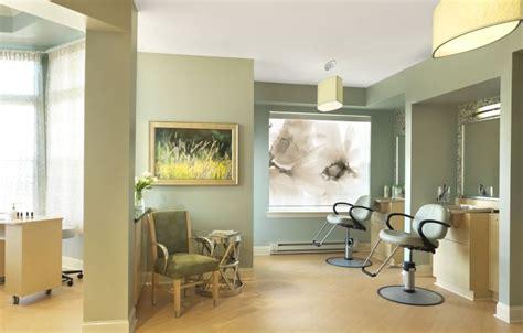 salon nice artwork  soothing color palette senior