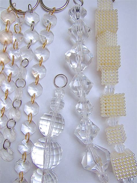 curtains beads crystals acrylic white crystal beads memories of a butterfly buy