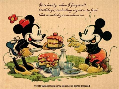 Disney Birthday Card Sayings