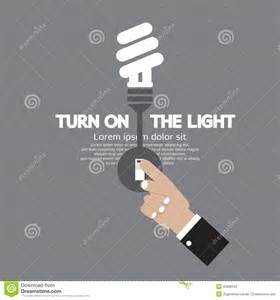 light bulb energy consumption turn on low energy consumption bulbs royalty free stock