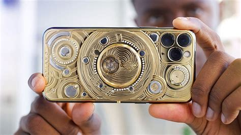 iste duenyanin en pahali iphone  pro modellerinden birisi