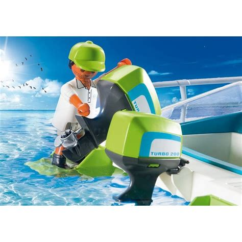 catamaran playmobil catamaran 224 fond de verre avec moteur submersible