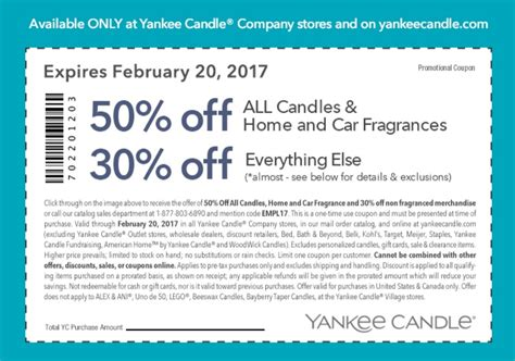 yankee candle online printable coupons printable coupons in store coupon codes yankee candle