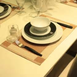 black clouds and silver wire table cloth placemats