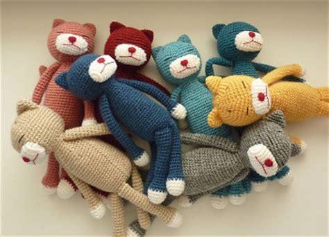 amineko pattern english cat and mouse crochet patterns 187 wee folk art