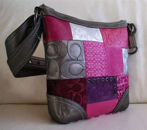 Coachs Colorful New Patchwork Satchel by Coach New Patchwork Shoulder Bag Tradesy