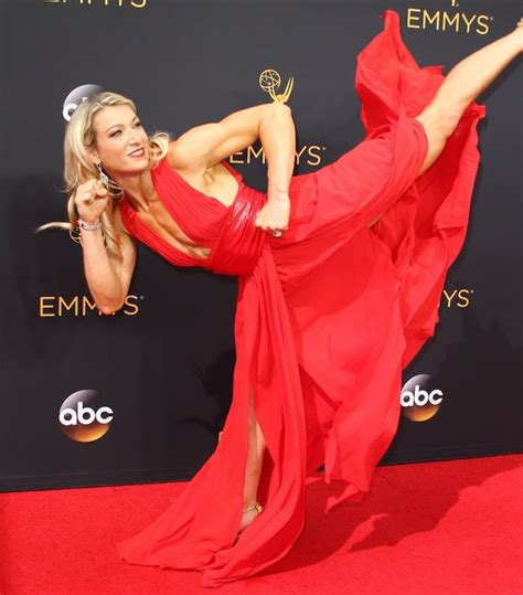 Jessie Graff Nude - jessie graff high kicks in carmen steffens sandals