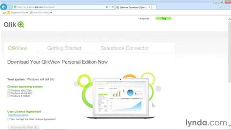 qlikview bi tutorial downloading and installing qlikview