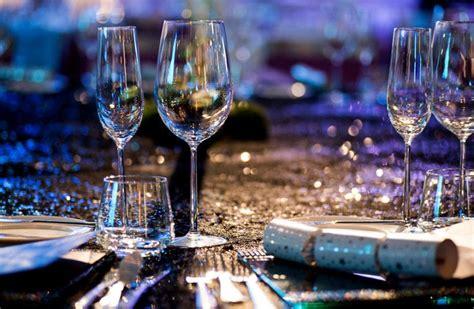 Dining Room Set Up winter wonderland 2015 new year s eve gala dinner the