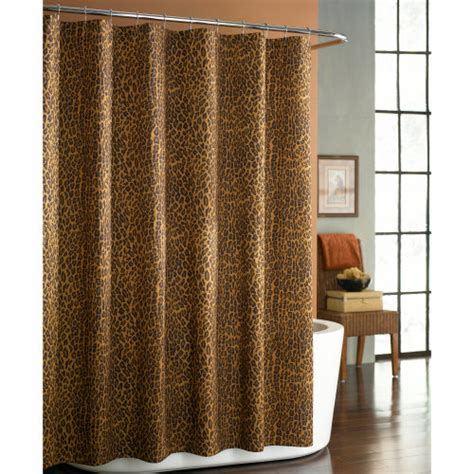 leopard shower curtains 5 leopard curtain styles design ideas