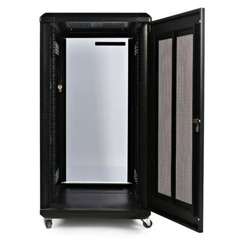 22u Server Rack Cabinet by 22u 36in Server Rack Cabinet With Glass Door Startech