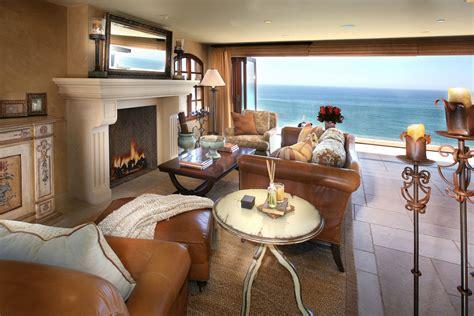 Mediterranean Homes Interior Design Mediterranean Style Ocean Front Home In Laguna Beach