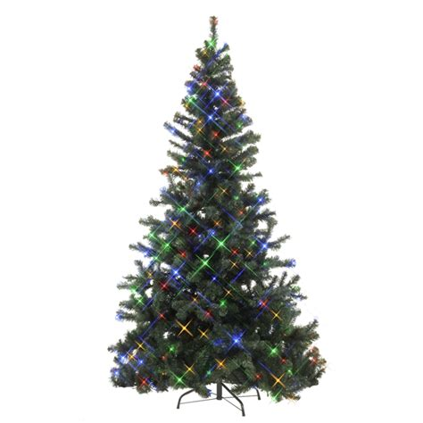 weihnachtsbaum led led weihnachtsbaum 210cm bunt f 252 r innen und aussen