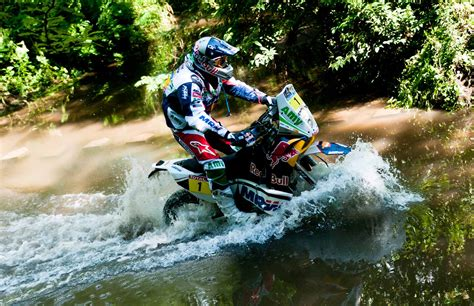 Wasser Motorrad by Dakar Stage 5 Race Officials Give Marc Coma Time Back