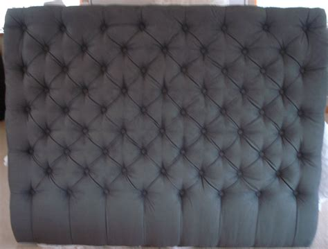 Grey King Size Headboard Bedroom Grey King Size Tufted Headboard For Lovely With Button Decoration Ideas Upholstered