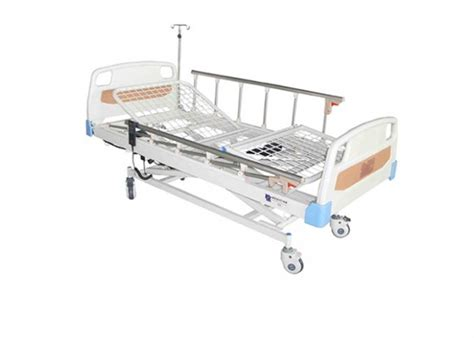 height adjustable 3 function hospital electric beds with aluminum alloy guardrail als e307