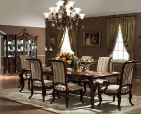 Dining Room Furnitures The Valencia Formal Dining Room Collection 11378