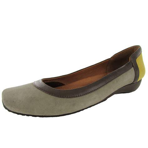 gentle souls shoes gentle souls womens iso block slip on flat shoe ebay