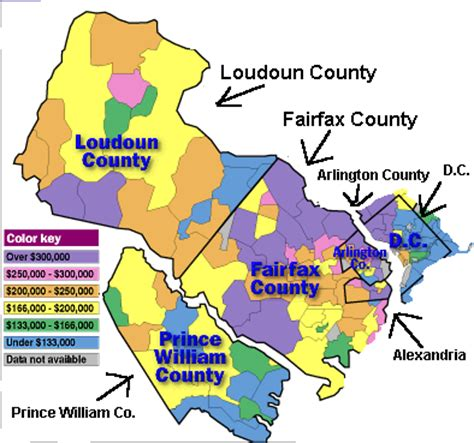 northern virginia map virginia home for sale search