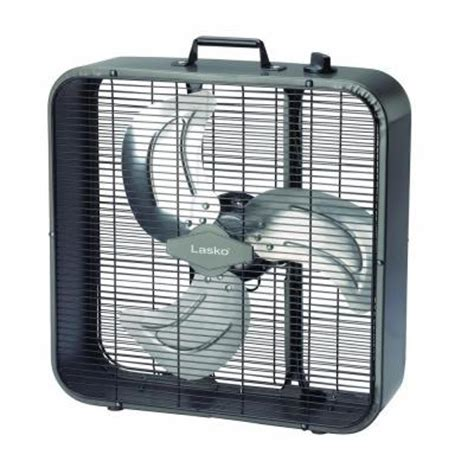 lasko 20 in metal box fan