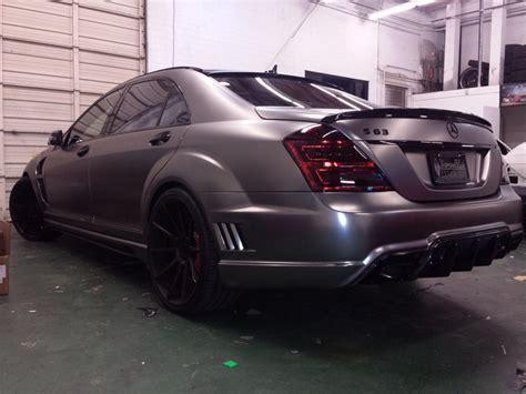 chrome benz frozen black chrome wrap mercedes benz s63 wrapfolio