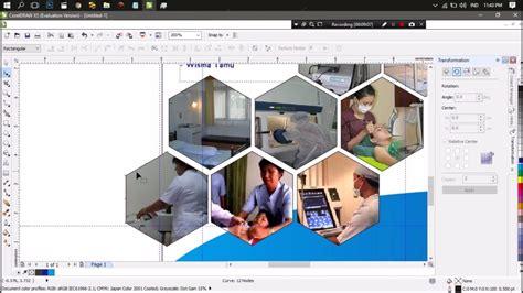 tutorial corel draw x5 membuat brosur tutorial membuat brosur menggunakan coreldraw x5 youtube