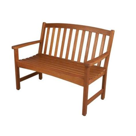 hton bay harris grove 2 seater patio bench ktob 1194