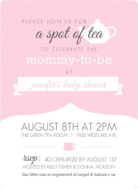 Tea Baby Shower Invitation Wording by Baby Shower Tea Ideas Purpletrail