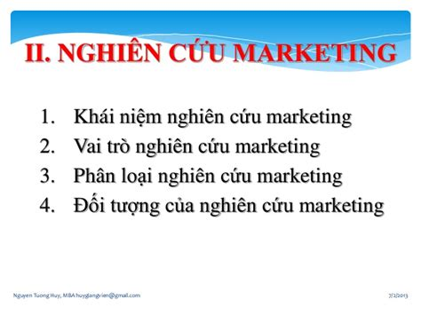 Marketing 3 In 1 L quan tri marketing 3 nghien cuu mkt