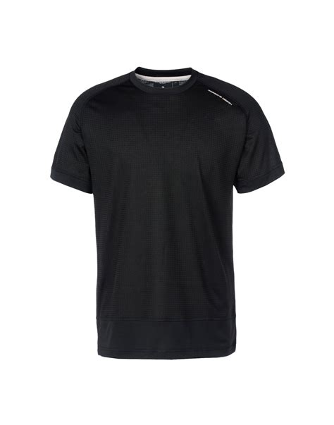 design t shirt adidas porsche design sport by adidas black t shirt for men lyst