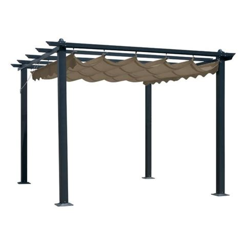 gazebo awning replacement glendale seville pergola replacement mocha gazebo canopy