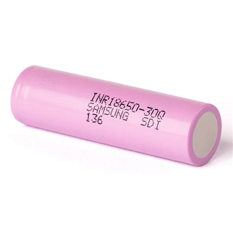 Dijamin Samsung Inr 18650 30q Li Ion Battery 3000mah 3 7v samsung inr 18650 30q li ion battery 3000mah 3 6v with flat top pink jakartanotebook