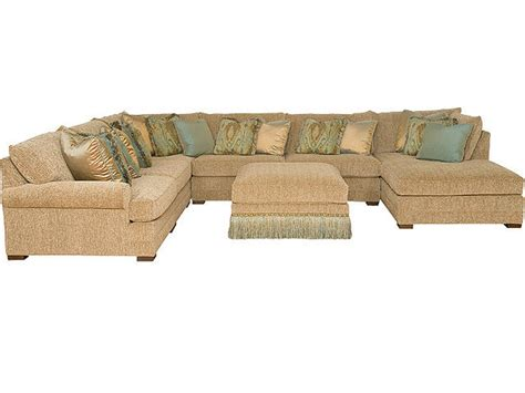 Casbah Sofa by King Hickory Living Room Casbah Leather Sectional 1100