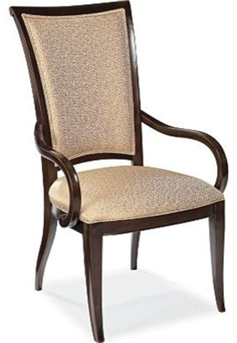 upholstered arm chair traditional dining chairs by