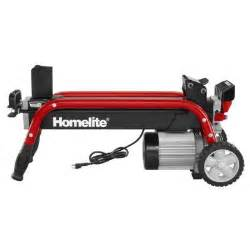 home depot log splitter homelite 5 ton electric log splitter ut49103 the home depot