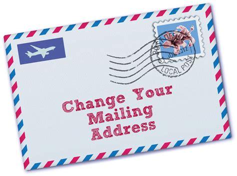 Mailing Address Dazed And Confused Change Of Address Anyone