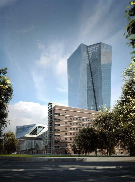 bank in frankfurt european central bank development frankfurt tower e