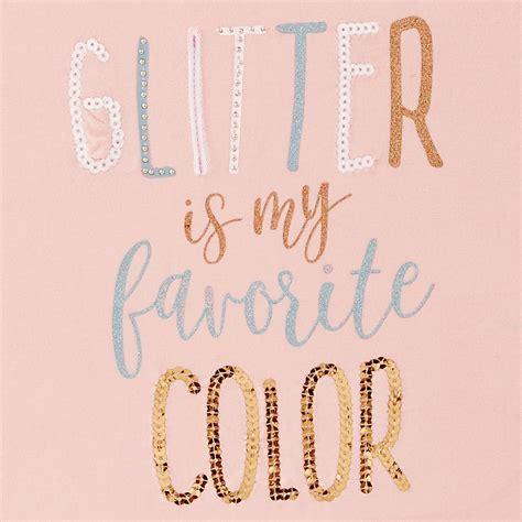 my favorite color is glitter glitter is my favorite color bamboo by mud pie