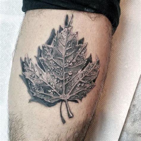 3d tattoo ottawa collection of 25 realistic maple leaf tattoo design