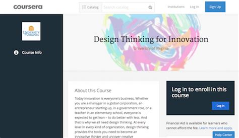 design thinking for innovation learn ui design and engineering 50 top courses classes