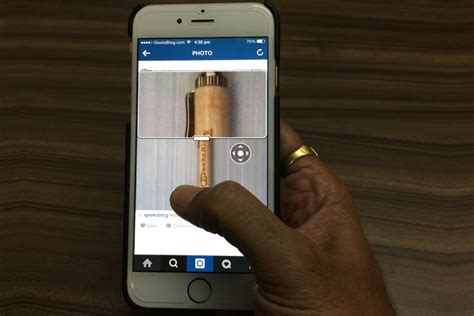 how to zoom in instagram photos on iphone and